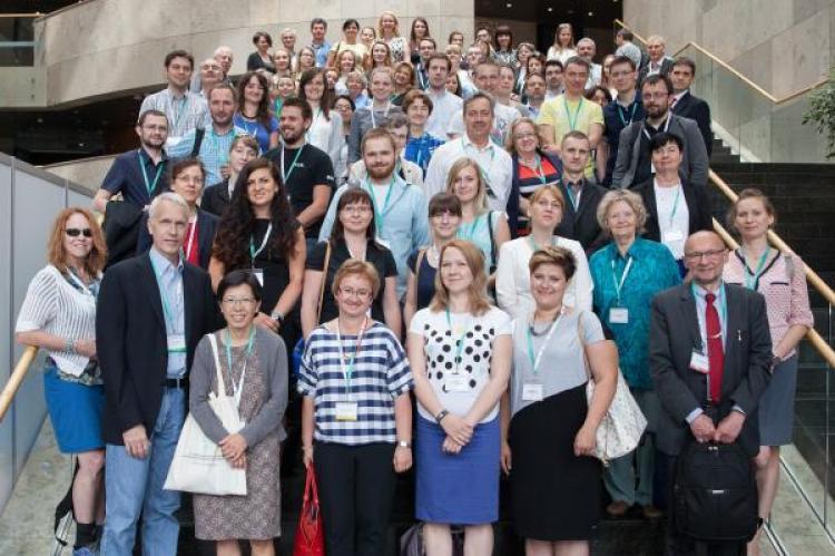 Uczestnicy Kongresu w 2016 r. i prof. Brian Kobilka. (fot. materiały organizatora)