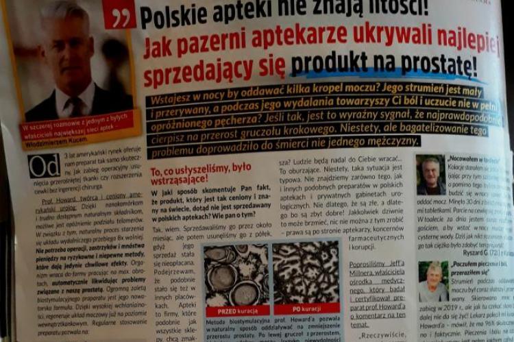 UOKiK zwrócił się do GIF o zabadanie czy reklama spełnia wymagania przepisów. (fot. Facebook)