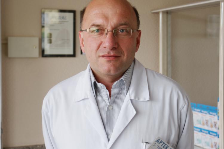Mariusz Politowicz zwraca uwagę, że nie w każdym gabinecie lekarskim znajduje się komputer czy drukarka, nie w każdym występują wspomniane połączenia z Internetem. (fot. MGR.FARM)