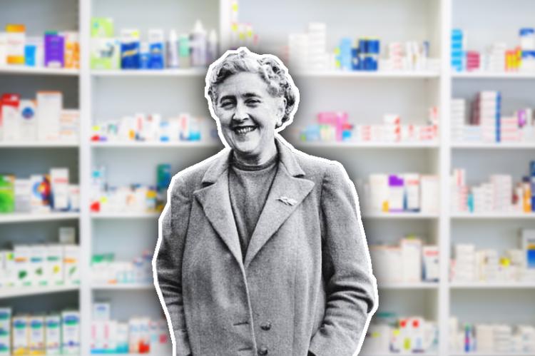 Niektórzy przypuszczają, że Christie cierpiała z powodu przewlekłego lęku podczas pracy w aptece szpitalnej. Według tej teorii był to dla niej impuls do rozpoczęcia kariery pisarza... (fot. Shutterstock)