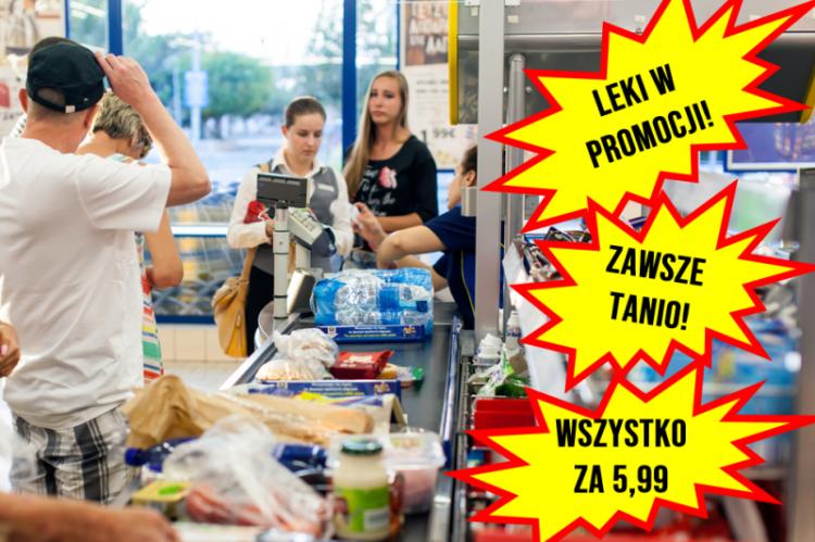 Zdaniem Śląskiego Wojewódzkiego Inspektora Farmaceutycznego w Katowicach nie jest istotne czy reklama jest dokonywana wewnątrz czy na zewnątrz placówki obrotu pozaaptecznego (fot. Shutterstock)