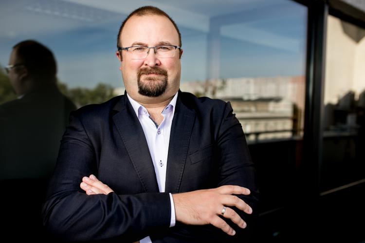 Michał Byliniak - wiceprezes Naczelnej Rady Aptekarskiej i prezes Okręgowej Rady Aptekarskiej w Warszawie (fot. MGR.FARM)
