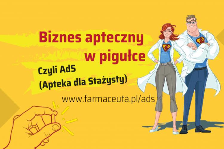 Szczegółowe informacje nt. wydarzeń oraz formularz rejestracyjny znaleźć można www.farmaceuta.pl/ads