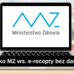 E-recepta bez podanego dawkowania – odpowiedź MZ
